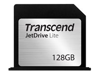 Transcend JetDrive Lite 350 - Carte mémoire flash - 128 Go - pour Apple MacBook Pro with Retina display 15.4 in (Early 2013, Mid 2012) TS128GJDL350