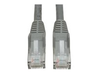 Tripp Lite 5ft Cat6 Gigabit Snagless Molded Patch Cable RJ45 M/M Gray 5' - Cordon de raccordement - RJ-45 (M) pour RJ-45 (M) - 1.5 m - UTP - CAT 6 - moulé, sans crochet, bloqué - gris N201-005-GY