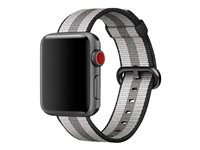 Apple 38mm Woven Nylon Band - bracelet de montre MQVG2ZM/A