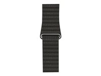 Apple 42mm Leather Loop - bracelet de montre MQV62ZM/A