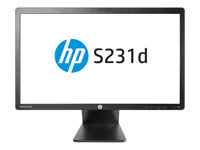 "HP EliteDisplay S231d - écran LED - Full HD (1080p) - 23"" F3J72AT#ABB"