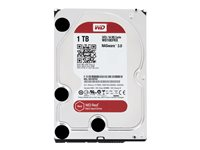 "WD Red NAS Hard Drive WD10EFRX - Disque dur - 1 To - interne - 3.5"" - SATA 6Gb/s - mémoire tampon : 64 Mo - pour My Cloud EX2; EX4 WD10EFRX"